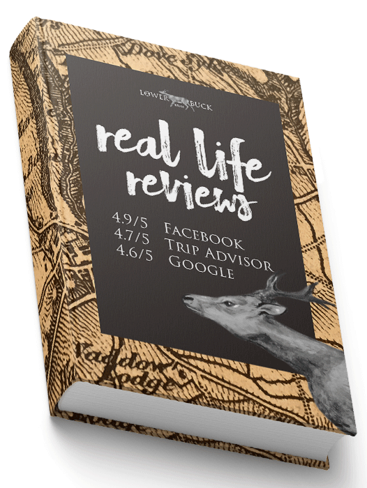Real reviews book image. Come and make your own history and visit The Lower Buck