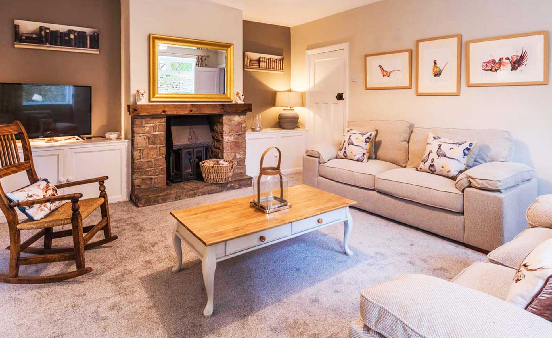 The holiday cottage in Waddington neat Clitheroe image