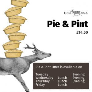 Pie and Pint offer